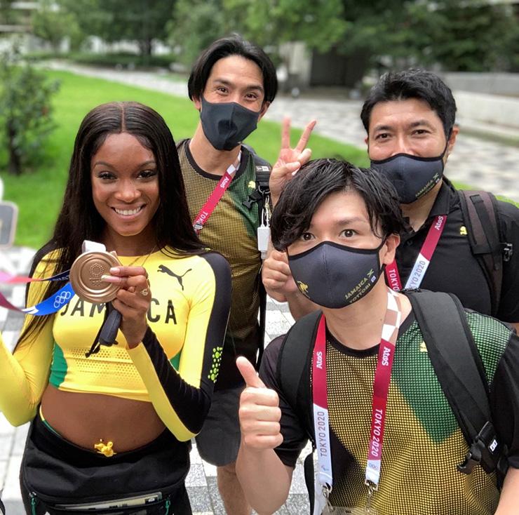 長崎 計 先生が東京2020オリンピック公式ドクター(ジャマイカチーム)を務めました