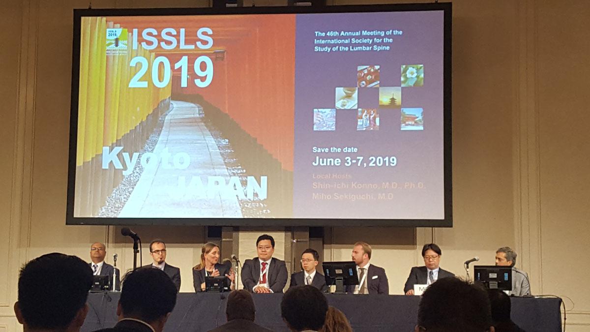 46th ISSLS Annual Meeting in Kyoto, Japan (第46回 国際腰椎学会)