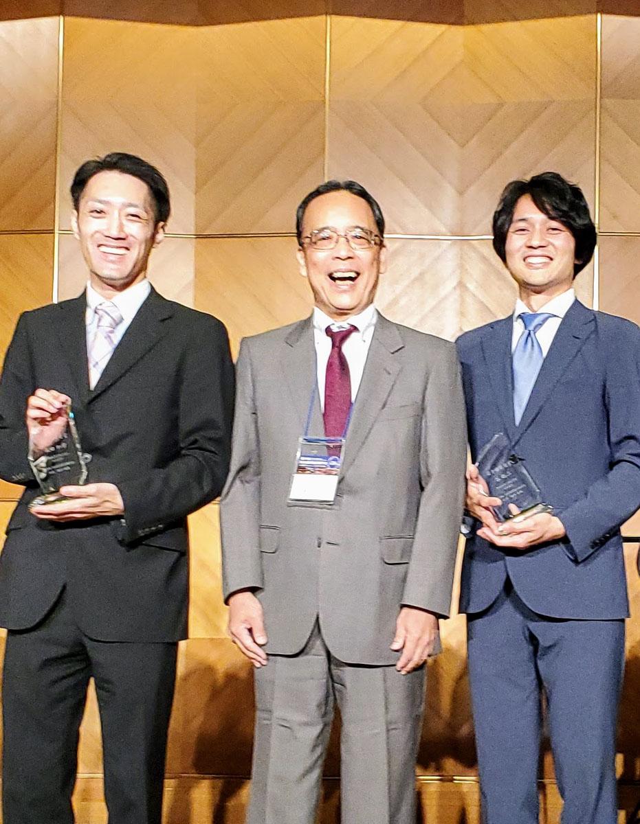 谷 聡二 先生・飯田 和章 先生が第39回 日本骨形態計測学会で若手研究者所をW受賞