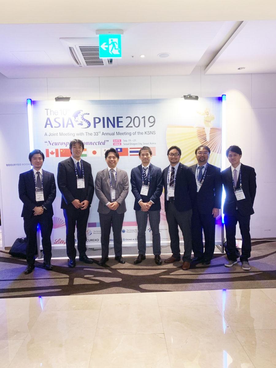 第10回ASIA SPINE(2019.9.19-9.21, ソウル, 韓国)に参加しました